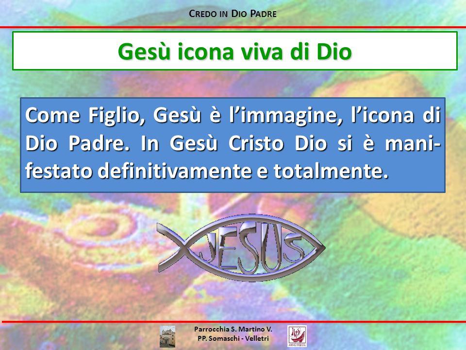 Credo in Dio Padre Gesù icona viva di Dio.