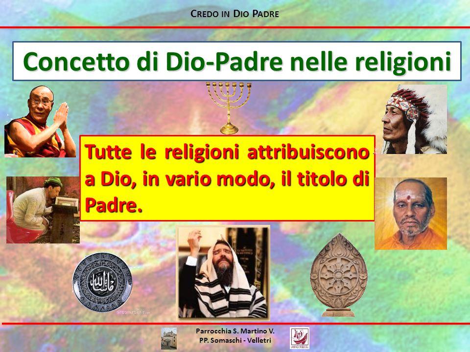 Concetto di Dio-Padre nelle religioni