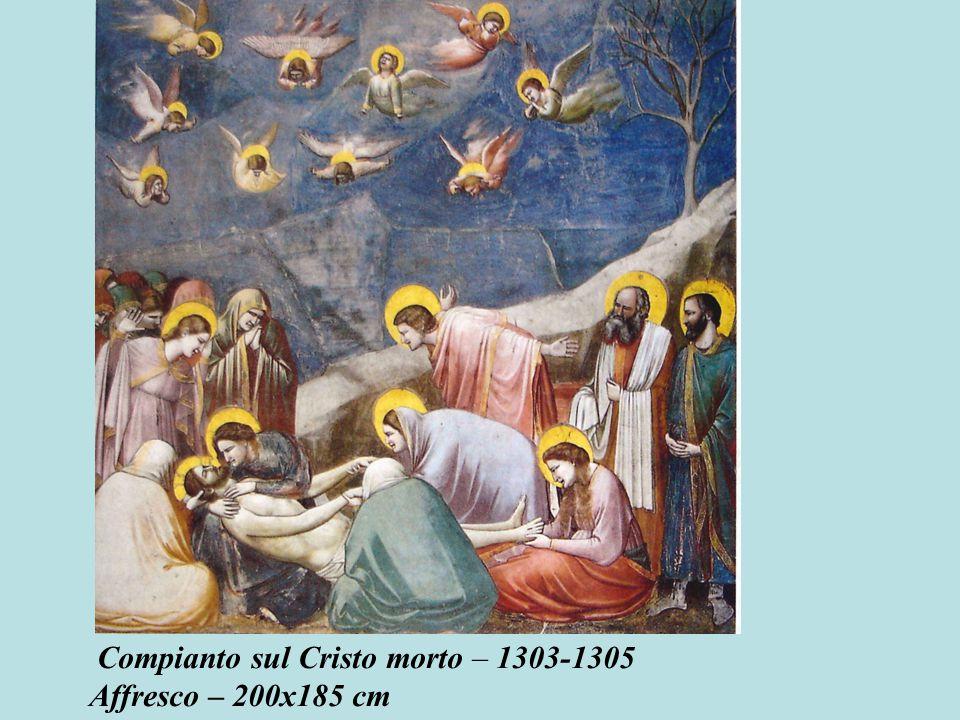 Compianto sul Cristo morto – 1303-1305