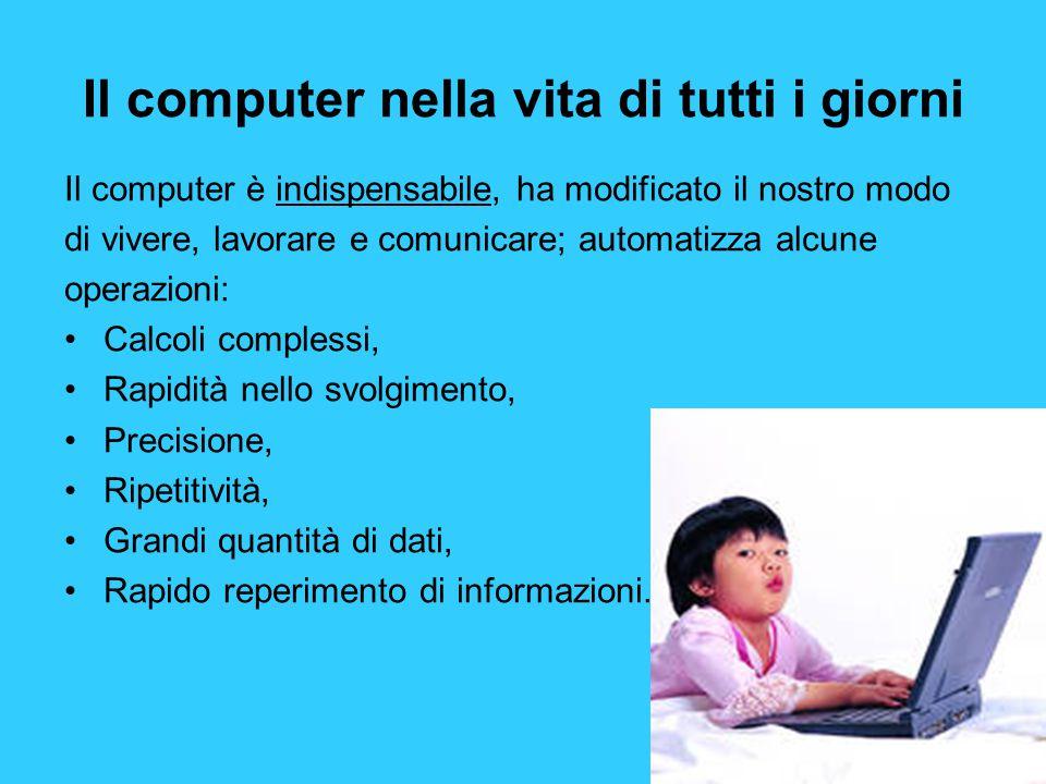 Il computer nella vita di tutti i giorni