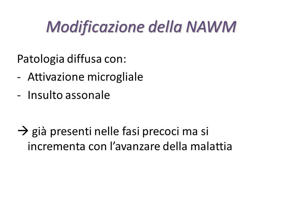 Modificazione della NAWM