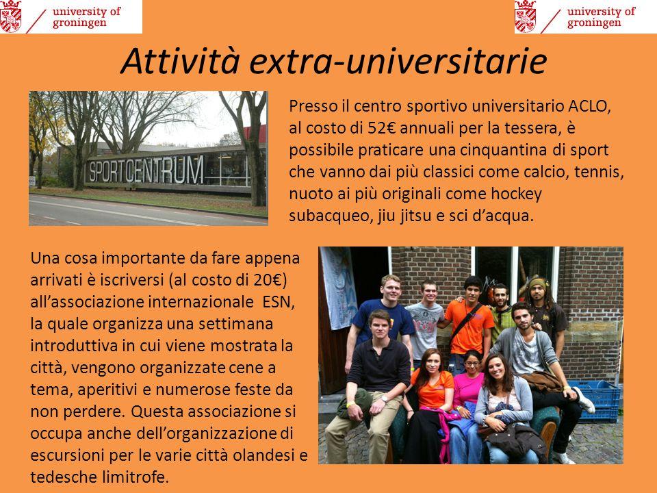 Attività extra-universitarie