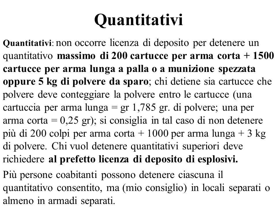 Quantitativi