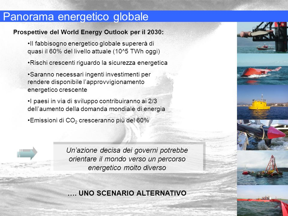 Panorama energetico globale