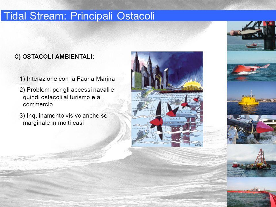 Tidal Stream: Principali Ostacoli