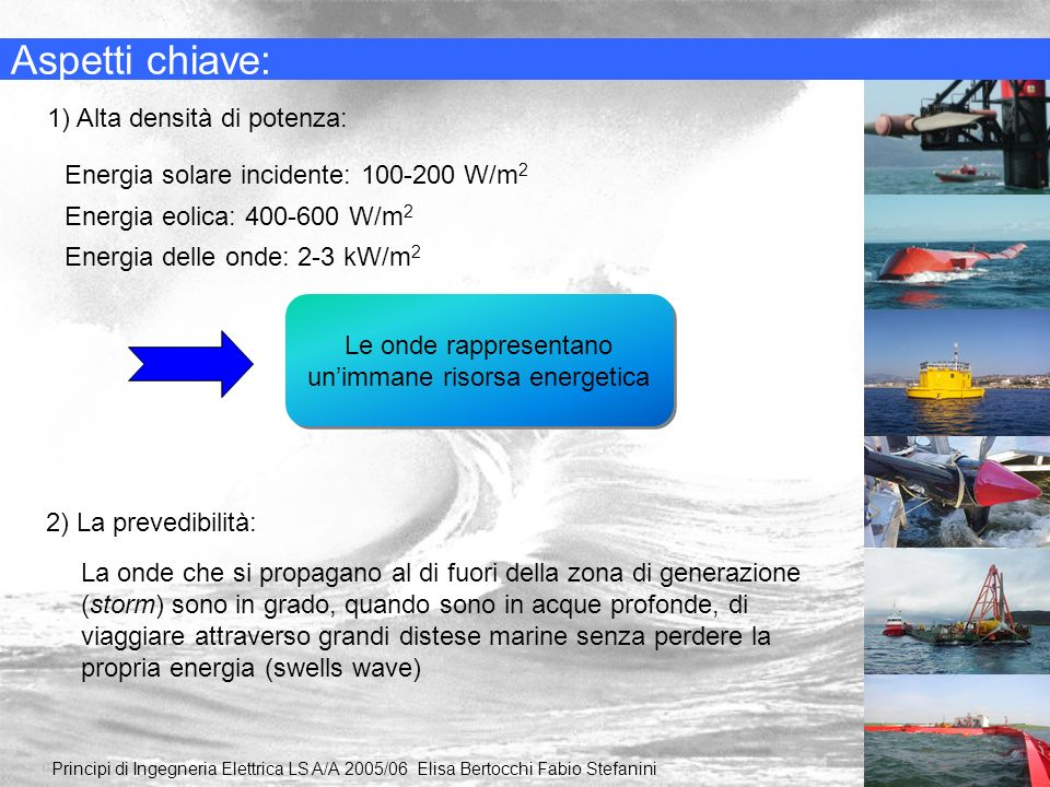 Le onde rappresentano un'immane risorsa energetica