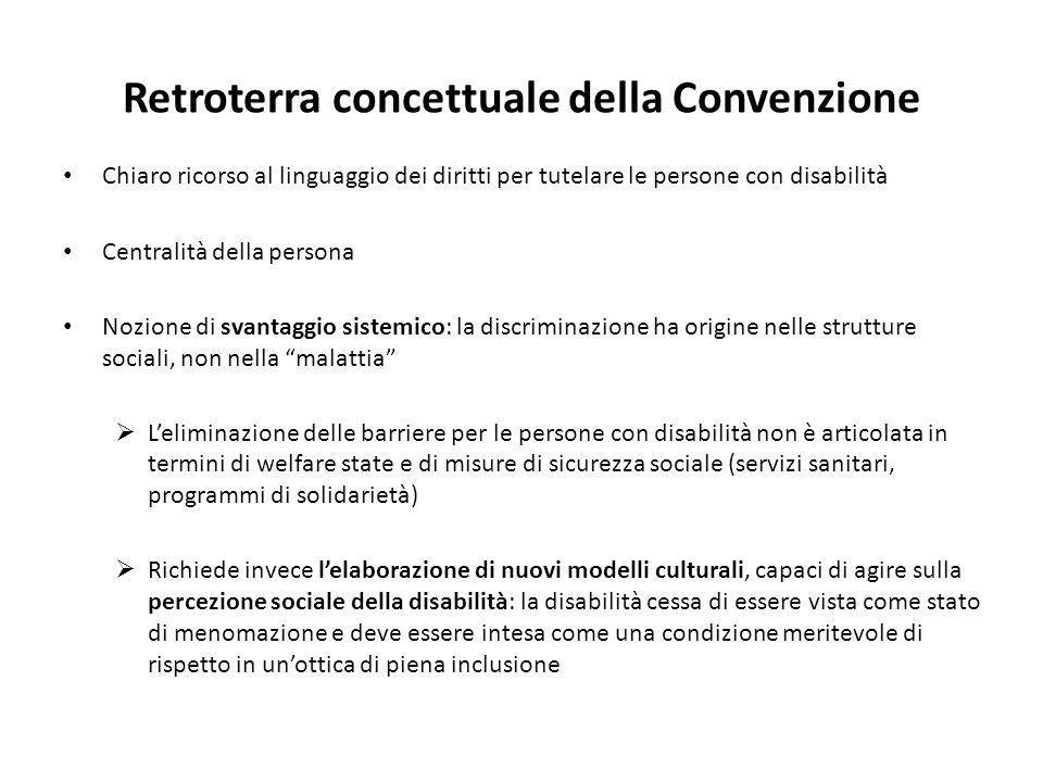 Retroterra concettuale della Convenzione