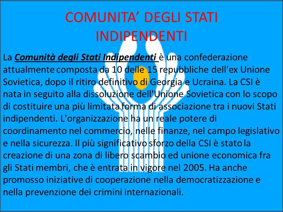 COMUNITA' DEGLI STATI INDIPENDENTI