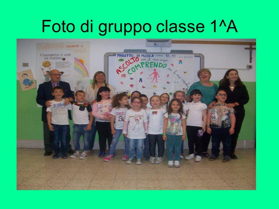 Foto di gruppo classe 1^A