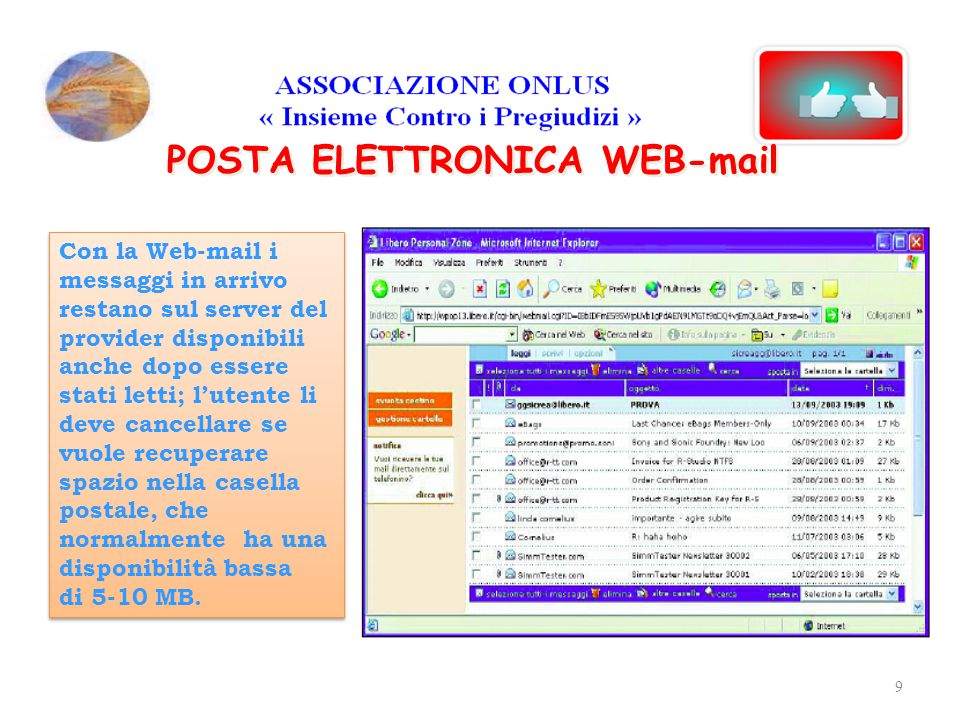 POSTA ELETTRONICA WEB-mail