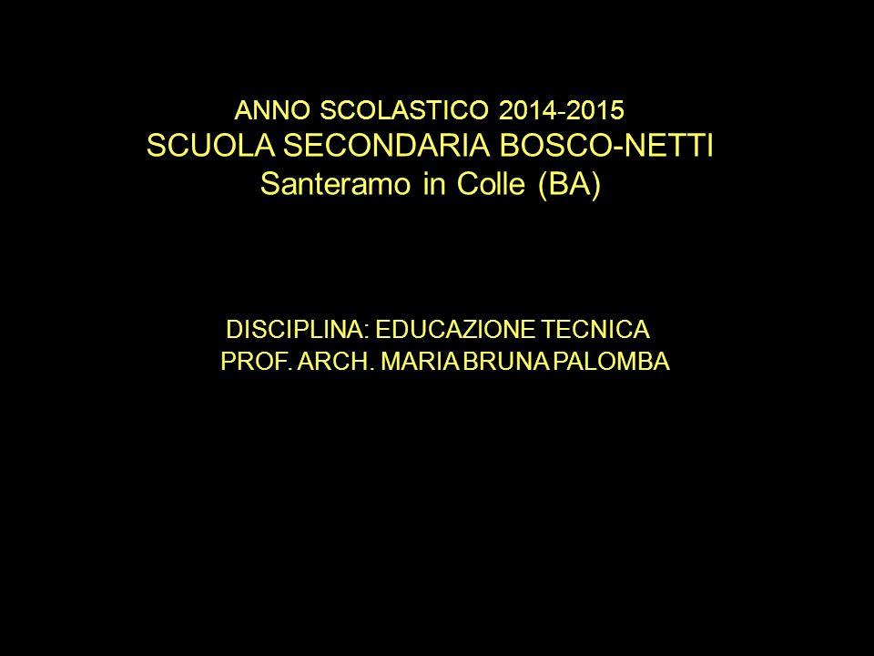 SCUOLA SECONDARIA BOSCO-NETTI Santeramo in Colle (BA)