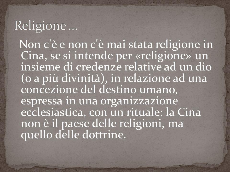 Religione …