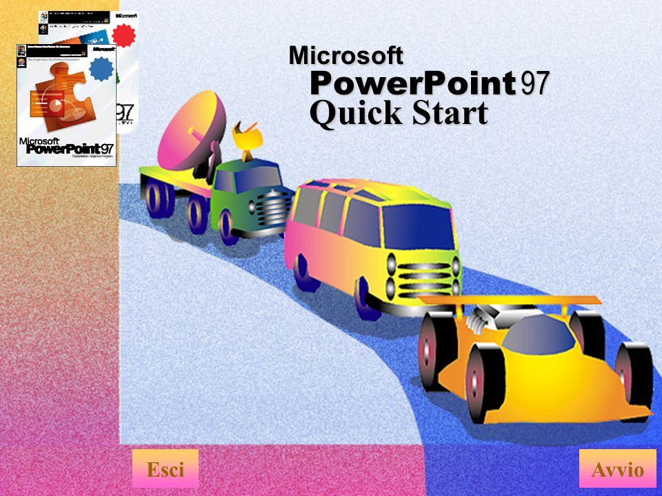 Microsoft PowerPoint 97 Quick Start