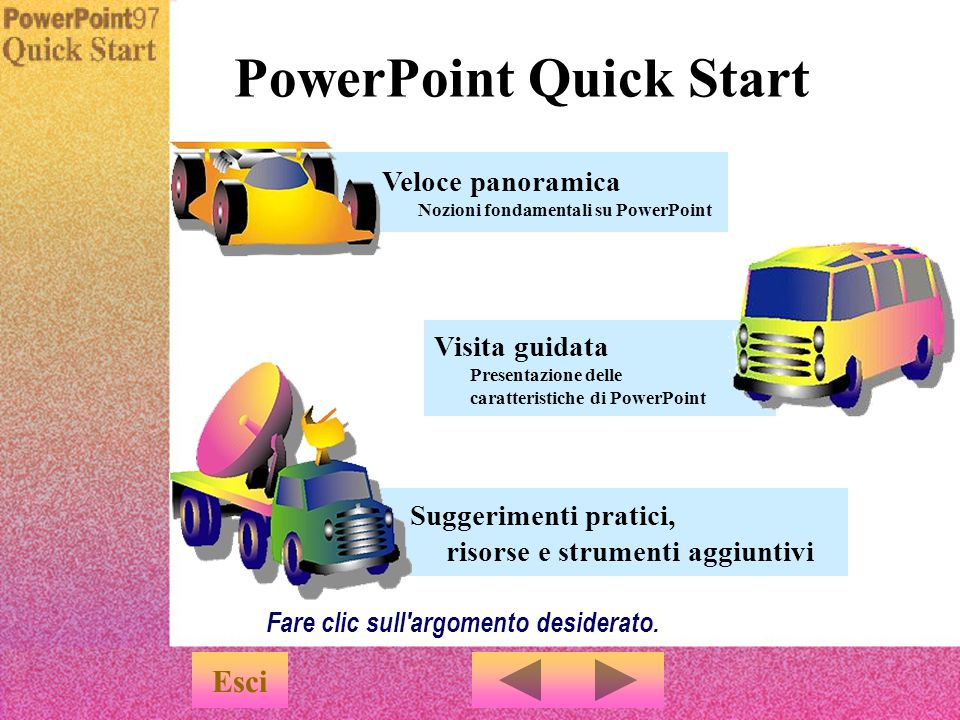 PowerPoint Quick Start