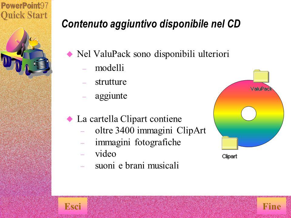 Contenuto aggiuntivo disponibile nel CD
