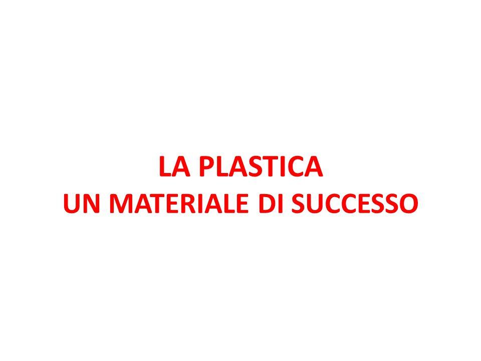 LA PLASTICA UN MATERIALE DI SUCCESSO