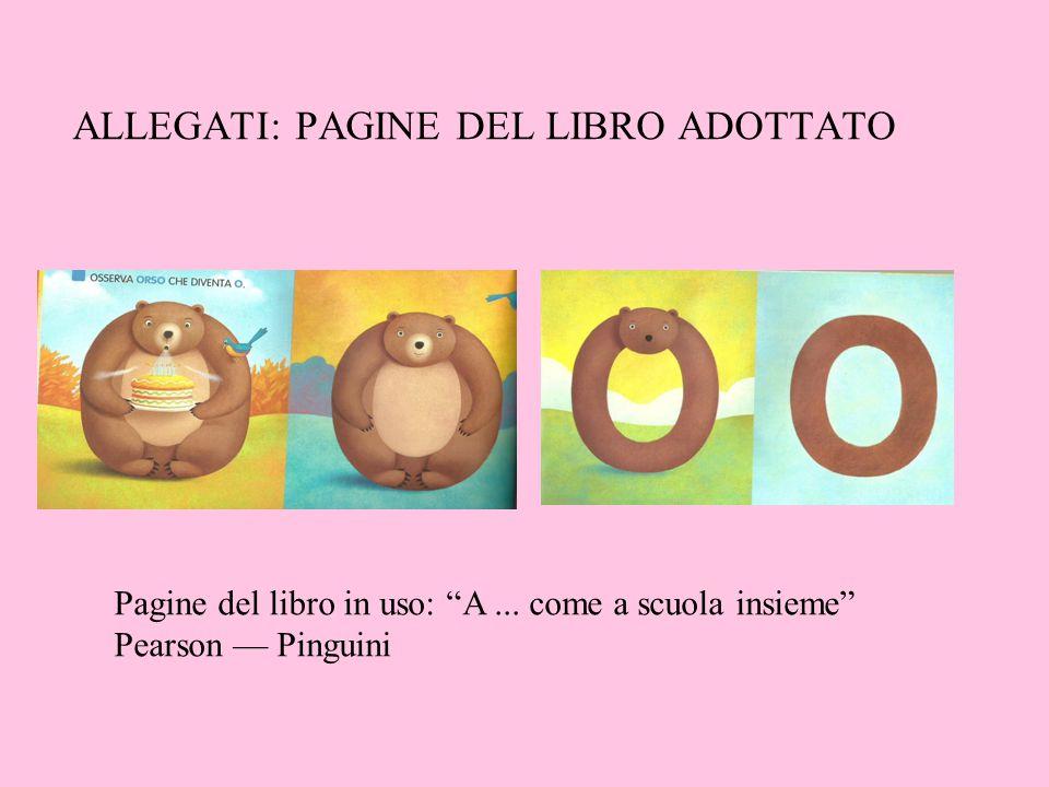 ALLEGATI: PAGINE DEL LIBRO ADOTTATO