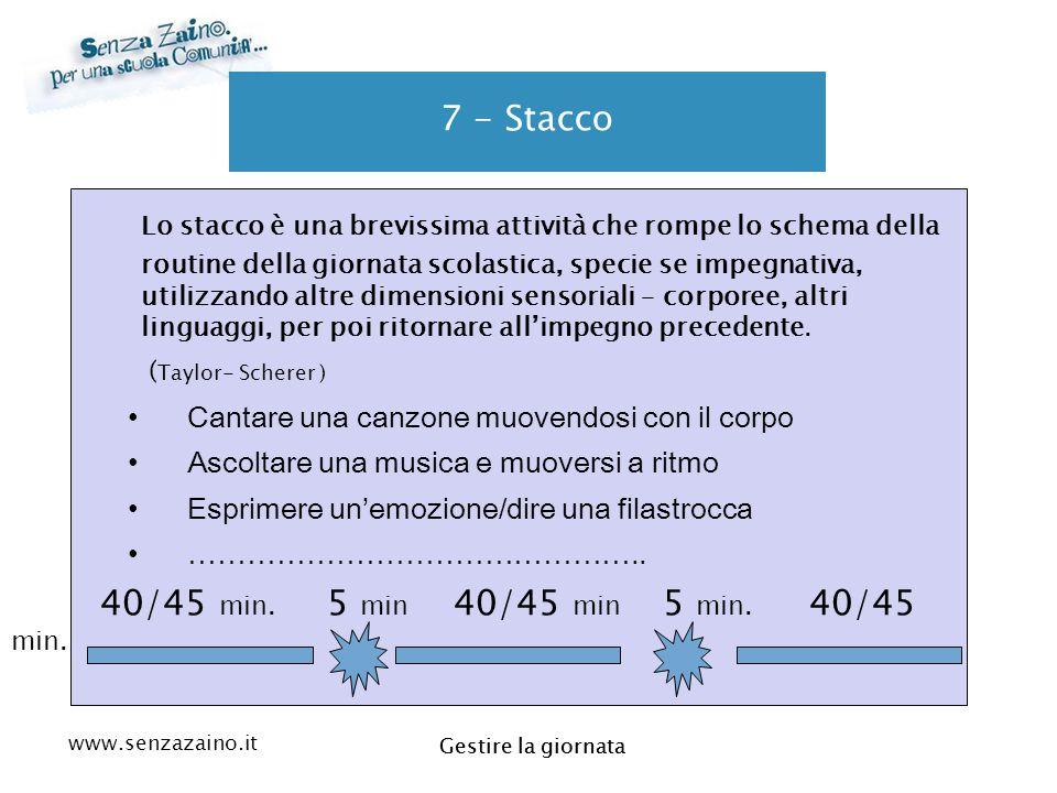 7 - Stacco