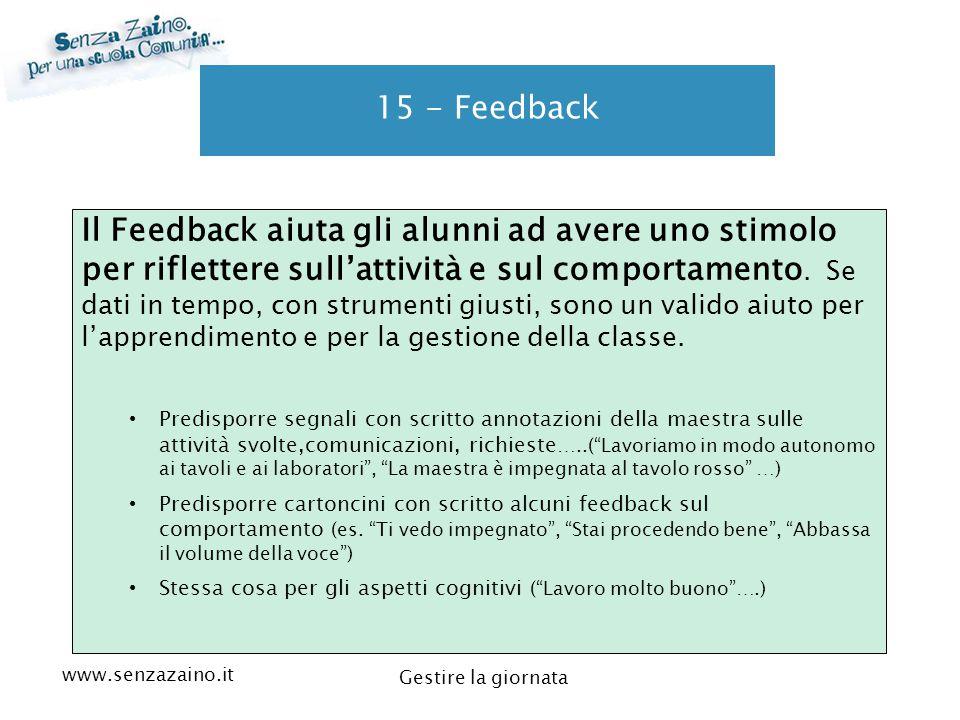 15 - Feedback