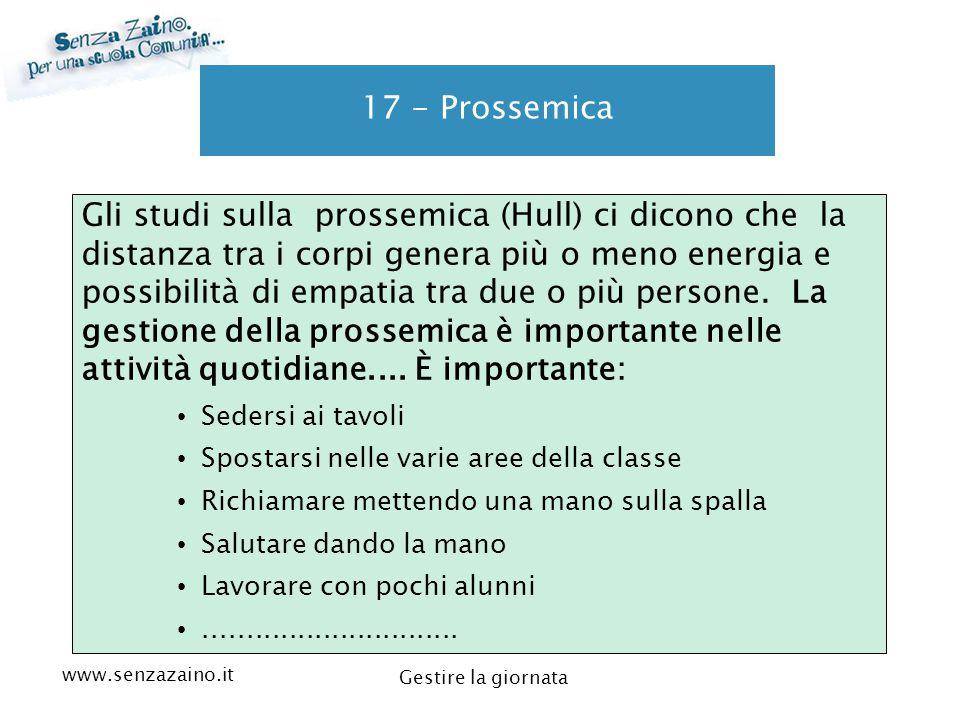 17 - Prossemica