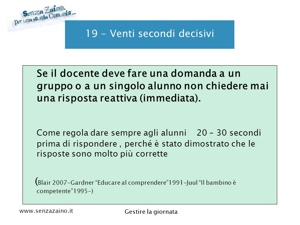 19 - Venti secondi decisivi