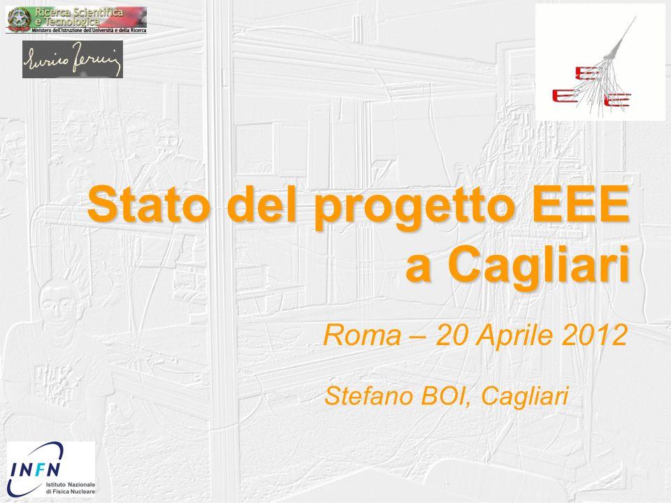 Stato del progetto EEE a Cagliari