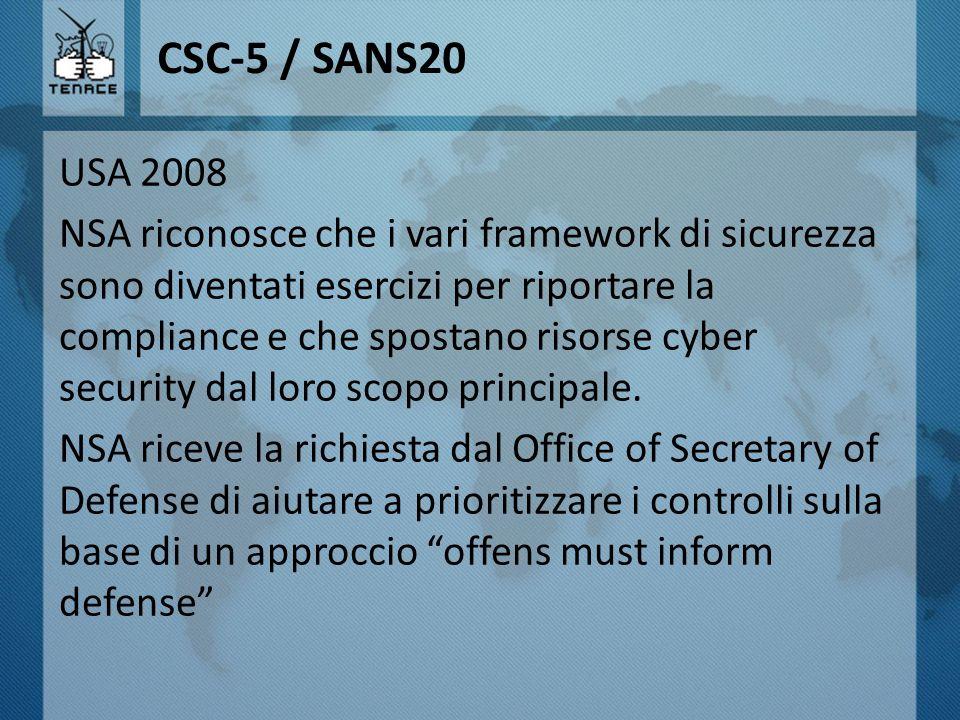 CSC-5 / SANS20