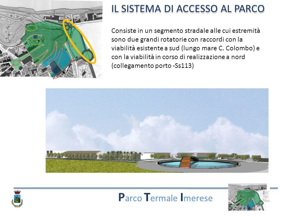 Parco Termale Imerese IL SISTEMA DI ACCESSO AL PARCO