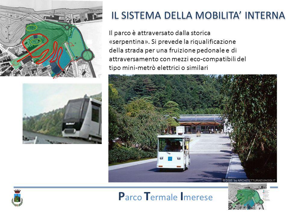 Parco Termale Imerese IL SISTEMA DELLA MOBILITA' INTERNA
