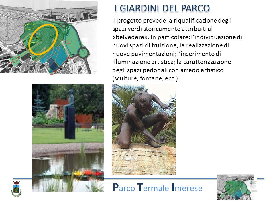 Parco Termale Imerese I GIARDINI DEL PARCO