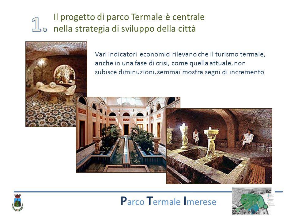1. Parco Termale Imerese Il progetto di parco Termale è centrale