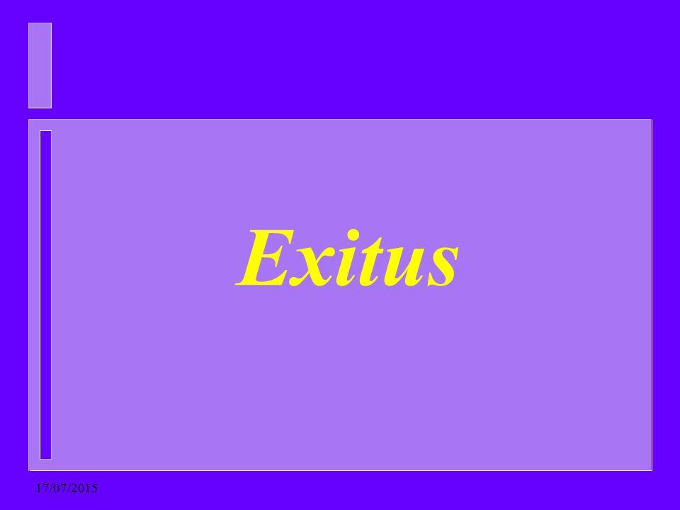 Exitus 18/04/2017