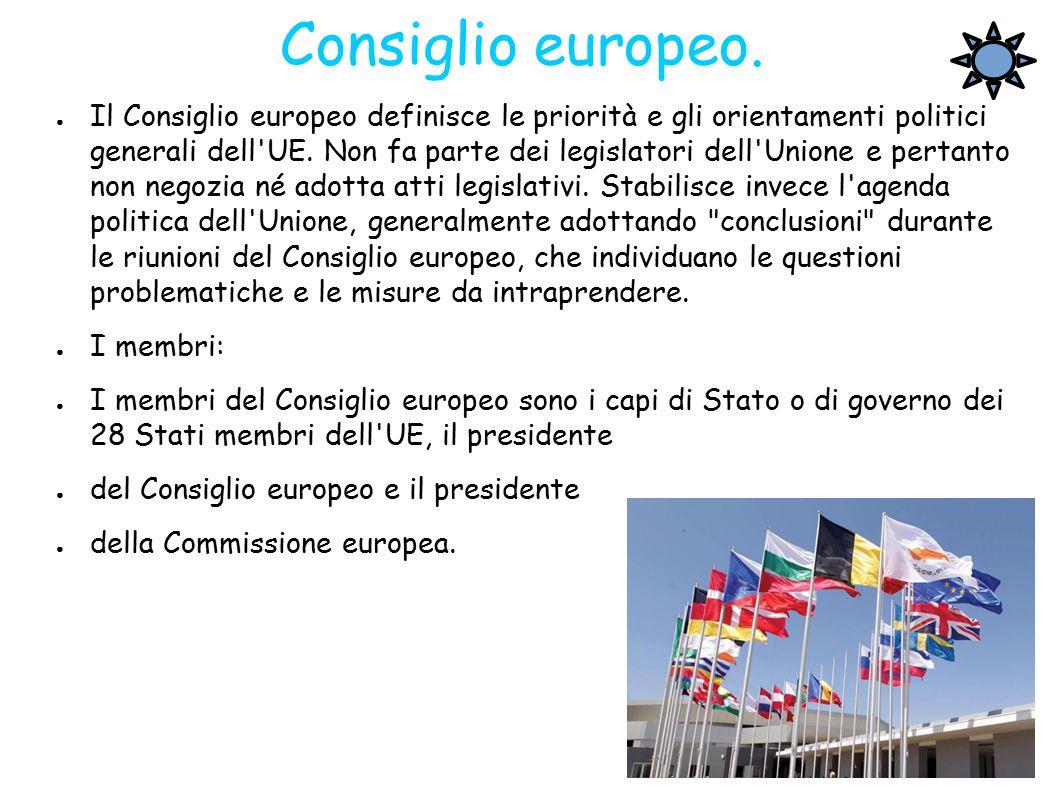 Consiglio europeo.