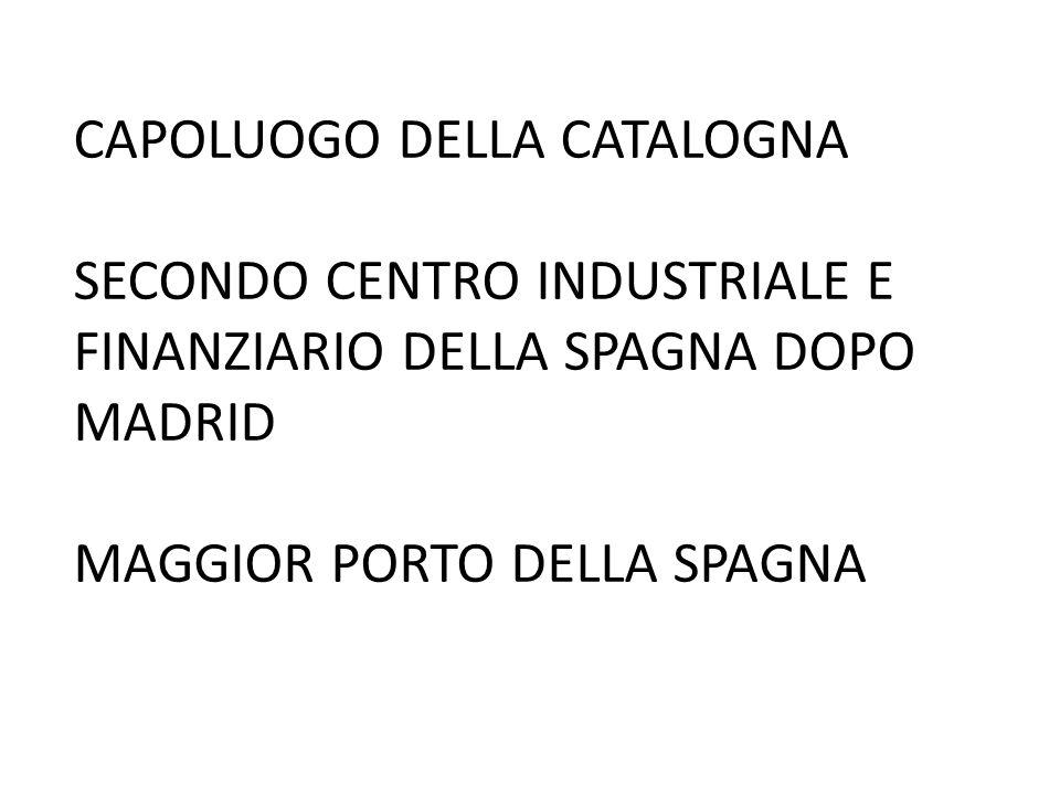 CAPOLUOGO DELLA CATALOGNA