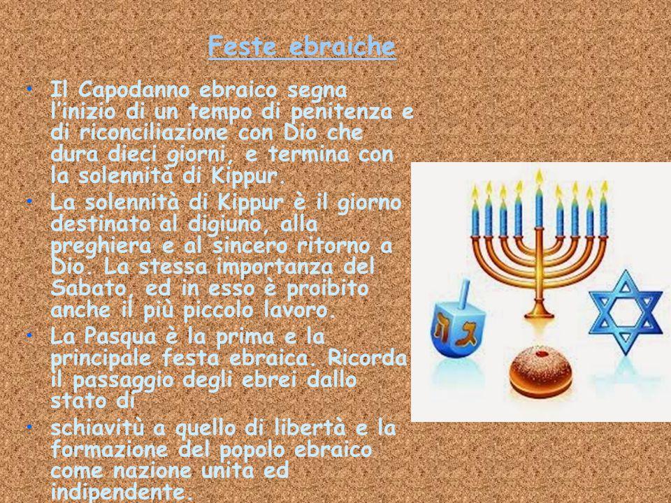 Feste ebraiche