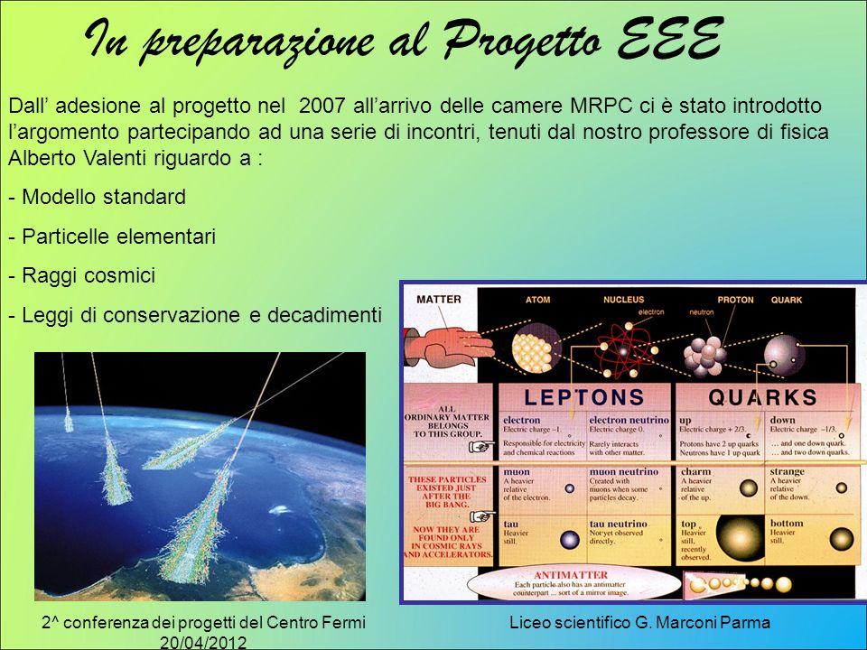 In preparazione al Progetto EEE