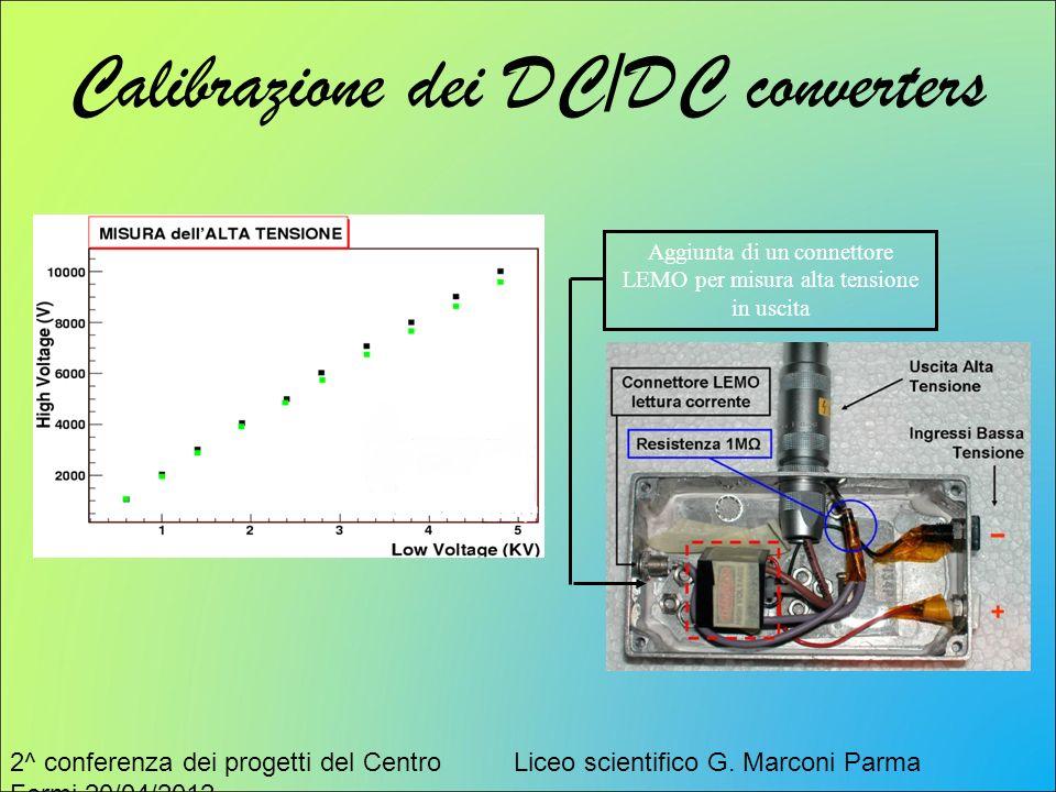 Calibrazione dei DC/DC converters