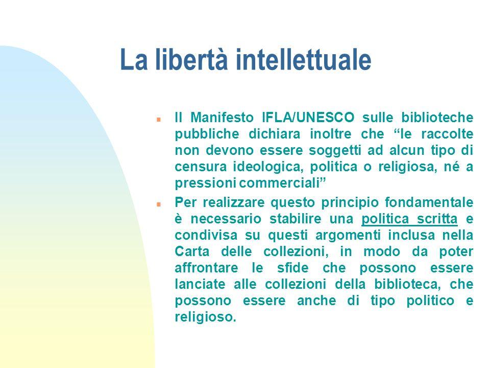 La libertà intellettuale