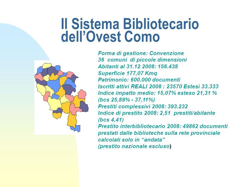 Il Sistema Bibliotecario dell'Ovest Como
