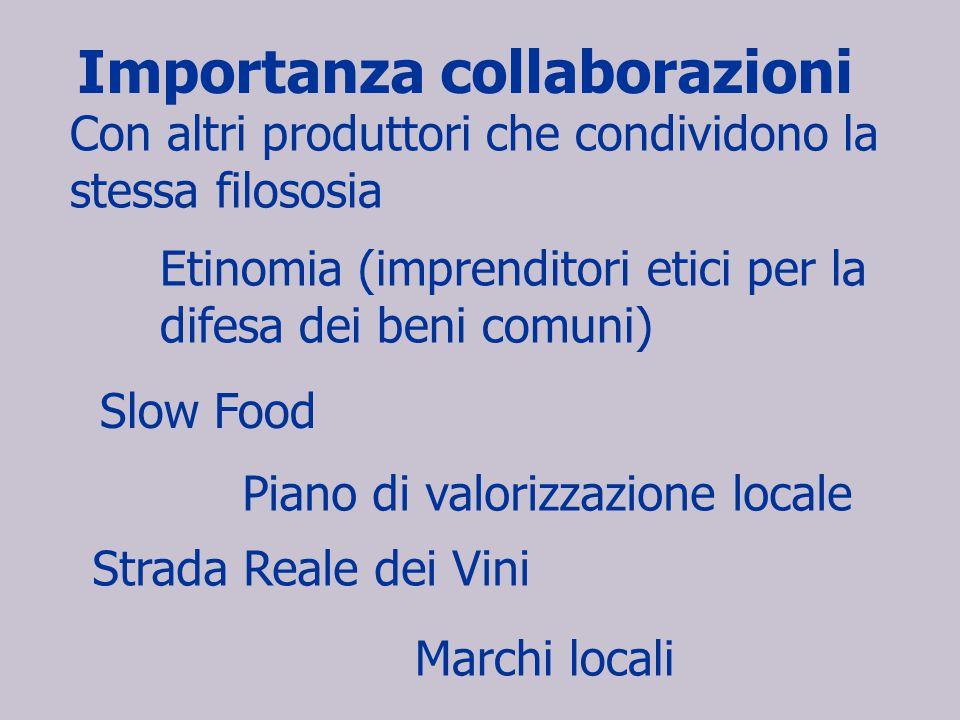 Importanza collaborazioni