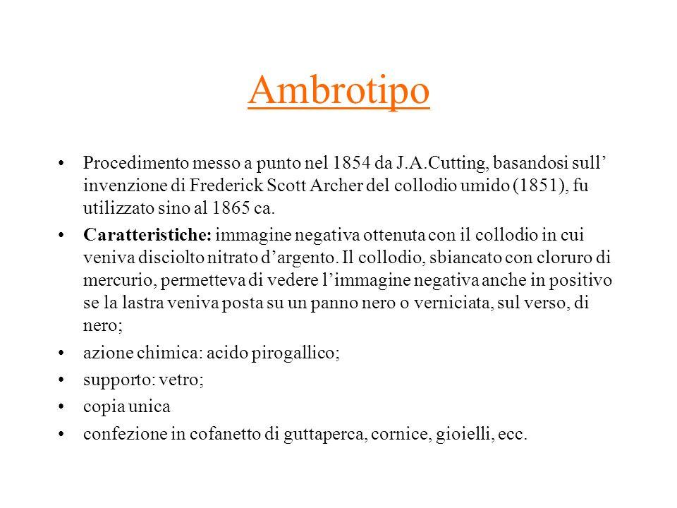 Ambrotipo