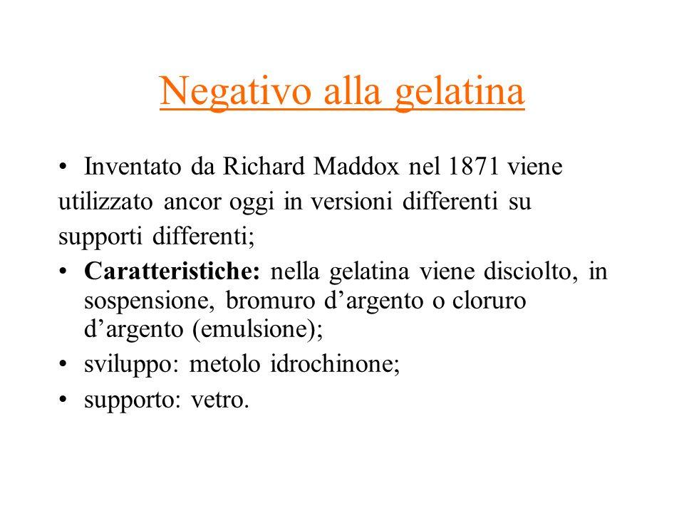 Negativo alla gelatina