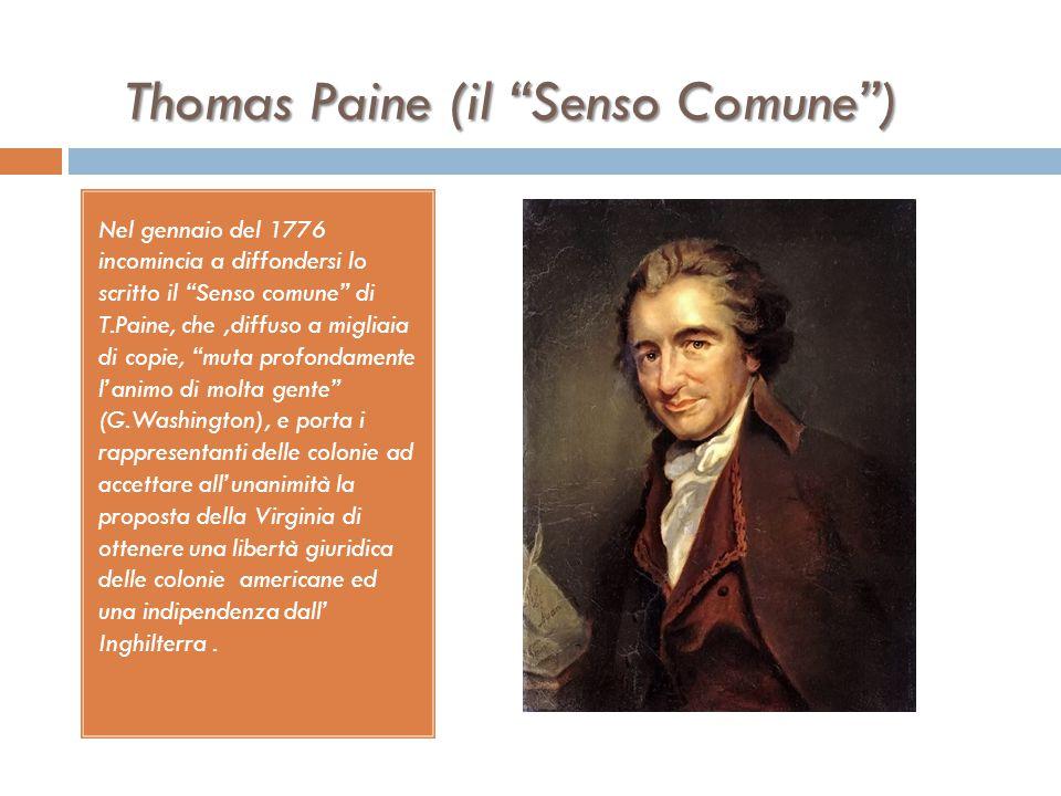 Thomas Paine (il Senso Comune )