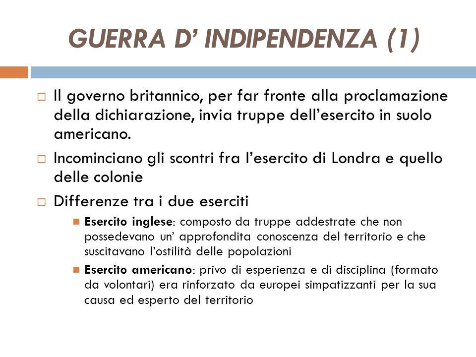 GUERRA D' INDIPENDENZA (1)