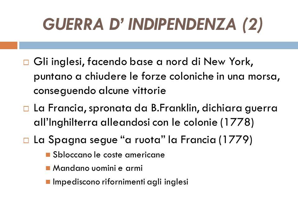 GUERRA D' INDIPENDENZA (2)
