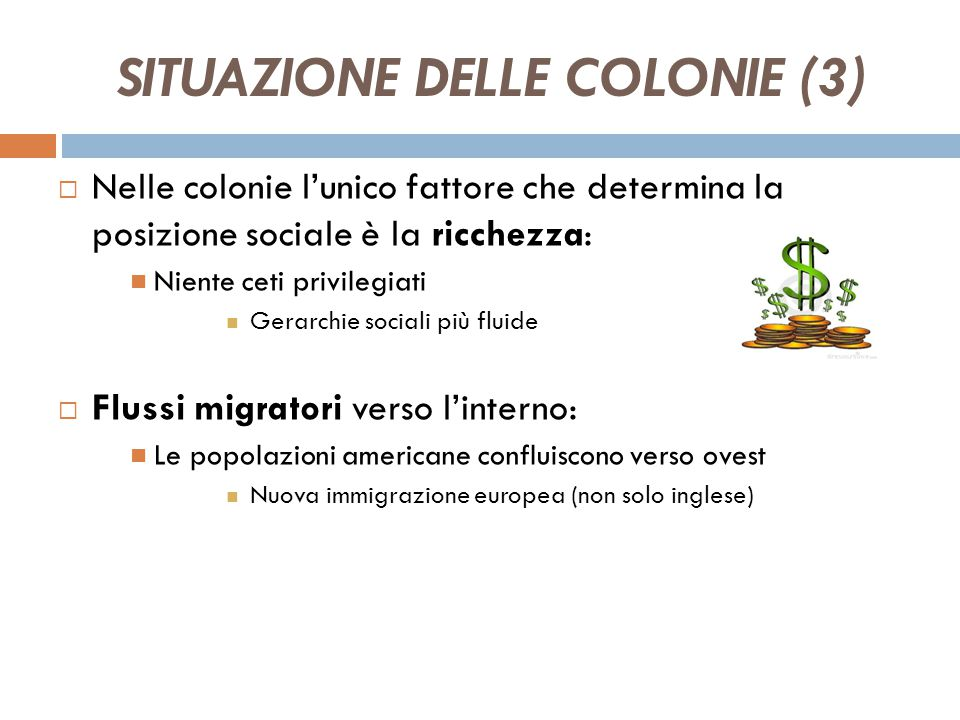 SITUAZIONE DELLE COLONIE (3)