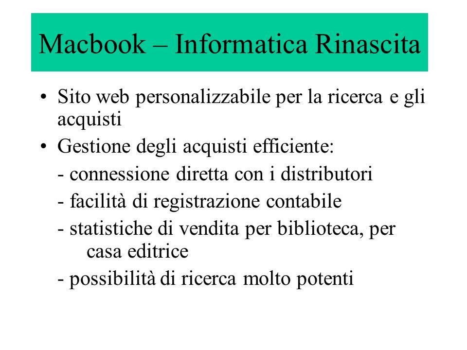 Macbook – Informatica Rinascita