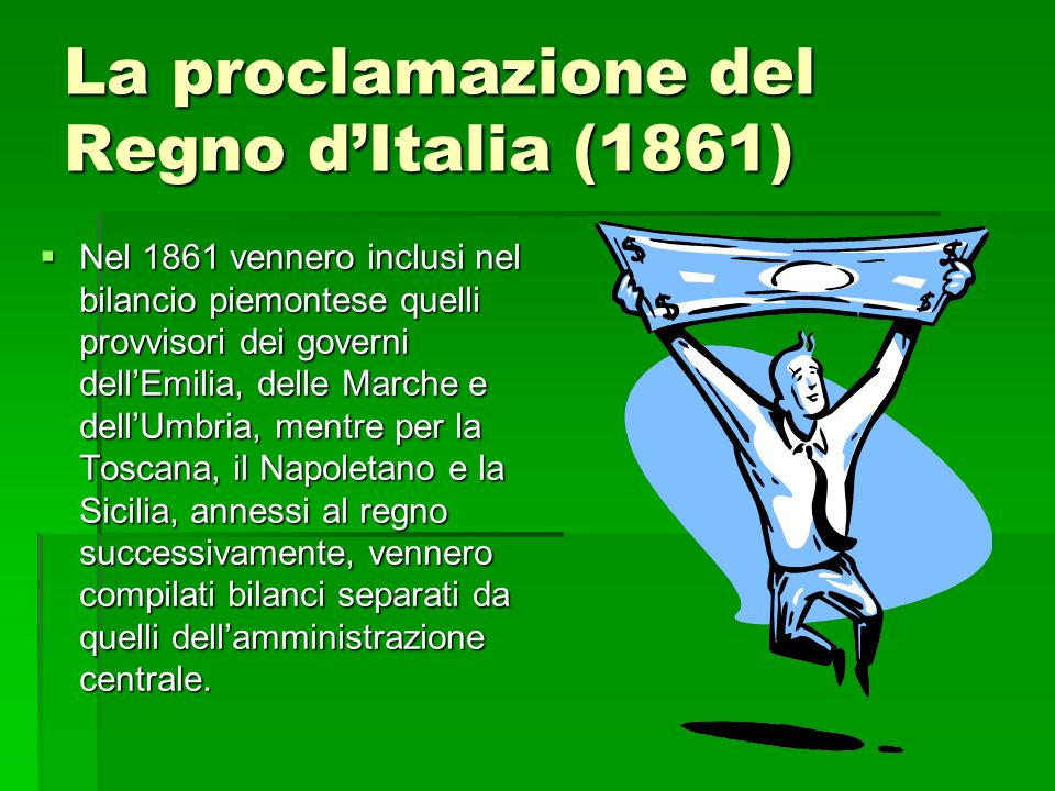 La proclamazione del Regno d'Italia (1861)