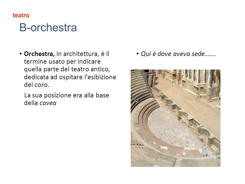 teatro B-orchestra.
