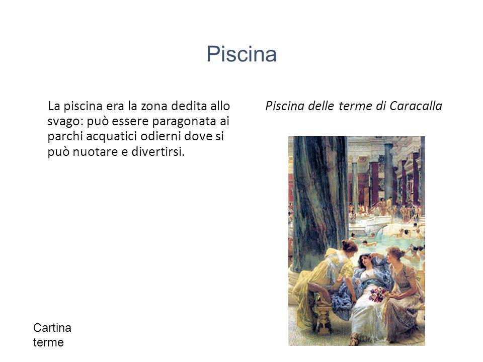 Piscina delle terme di Caracalla